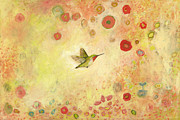 Peach Prints - Returning to Fairyland Print by Jennifer Lommers