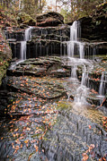 Nameless Prints - Revealing The Hidden Nameless Waterfall Print by Gene Walls