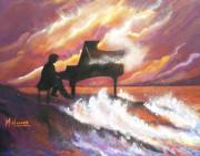 Rhapsody In G Print by MarLa Hoover