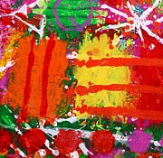 Abstract Art Greeting Cards Posters - Rhapsody Poster by John  Nolan
