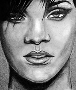 Rap Art - Rhianna by Michael Cross