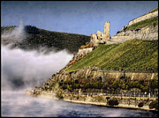 Wine Vineyard Photo Originals - Rhine Gorge by Jim Hill