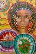 Shiloh Sophia Art Art - Rhythms of Transition by Havi Mandell