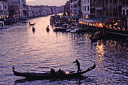 All - Rialto Bridge Sunset View by Tom Wurl