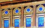 Rialto Theatre Prints - Rialto Theatre Windows -montreal Landmark Building Print by Carole Spandau