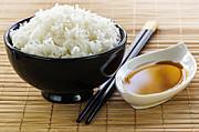 Rice Meal Print by Elena Elisseeva