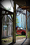 Metal Sheet Framed Prints - Rice Mill IV Framed Print by Beth Vincent