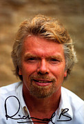Airways Prints - Richard Branson Print by Studio Photo
