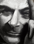 Science Art - Richard Feynman by Simon Kregar