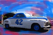 Historic Nascar Posters - Richard Petty nascar Poster by Doug Walker