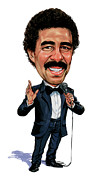 Caricatures Paintings - Richard Pryor by Art