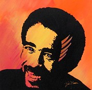 Bill Manson Paintings - Richard Pryor Live and Well by Bill Manson