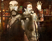 Lynda Payton Prints - Richard Pryor Print by Lynda Payton