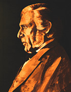 Berlin Paintings - Richard Wagner by Derrick Higgins
