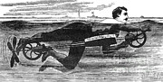 Richardsons Swimming Device 1880 Print by Science Source