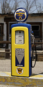 Strong Vertical Images Prints - Richfield Ethyl - Gas Pump Print by Mike McGlothlen
