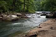 Richland Creek Photos - Richland Creek Fall No.1 - MP0022 by Matthew Parks