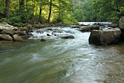 Richland Creek Photos - Richland Creek Falls No.2 - MP0023 by Matthew Parks