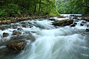 Richland Creek Photos - Richland Creek Falls No.3 - MP0024 by Matthew Parks
