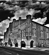Richmond Virginia Prints - Richmond Blues Armory Print by Tim Wilson