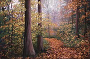 Appalachian Pastels Prints - Richwood Print by Angela Robey