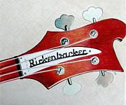 Rickenbacker Print by Glenda Zuckerman