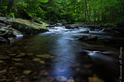 Ken Beatty Framed Prints - Ricketts Glen Cascades Framed Print by Ken Beatty