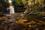 Faucet Posters - Ricketts Glen  Murray Reynolds Poster by Mark Papke