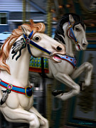 Festivals Photos - Ride a Painted Pony by Colleen Kammerer