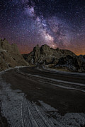 Milkyway Prints - Ride across the Badlands Print by Aaron J Groen