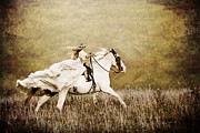 Ride Like The Wind Print by Cindy Singleton