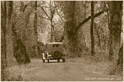 Model A Prints - Ridgefield Nostalgia Print by Angie Vogel