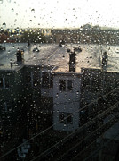 Ridgewood Art - Ridgewood houses wet with rain by Mieczyslaw Rudek Mietko