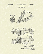 Chandler  Drawings - Riding Spurs 1959 Patent Art by Prior Art Design