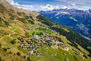 Riederalp Valais Swiss Alps Switzerland Europe Print by Matthias Hauser