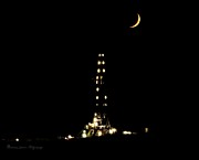 Roughneck Originals - Rig at Night by Melanie Davis