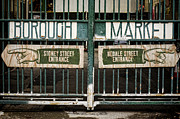 Farmers Market Framed Prints - Right or Left Framed Print by Heather Applegate