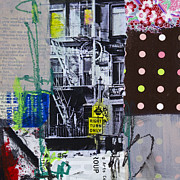 San Francisco Mixed Media - Right turn only by Elena Nosyreva