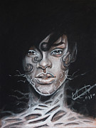 Rihanna Originals - Rihanna Electric Darkness by Ejaz  Hassanali
