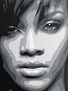 Rihanna  Print by Siobhan Bevans