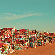 Cadillac Ranch Photos - Rillo by Katya Horner