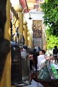 Ringing Of The Bells - Wat Phrathat Doi Suthep - Chiang Mai Thailand - 01132 Print by DC Photographer