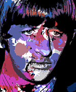 Ringo Starr Art - Ringo Starr by Allen Glass