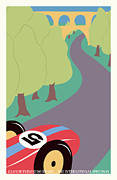 Rally Prints - Rio Brazil Grand Prix Print by Nomad Art And  Design