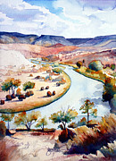 Chama River Prints - Rio Chama  Print by Jim Smither