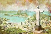 Rio De Janeiro Print by Catf