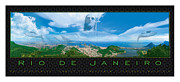 Redeemer Framed Prints - Rio de Janeiro Framed Print by Jerry T Price