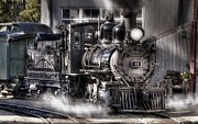 Narrow Gauge Steam Engine Prints - Rio Grande Southern 41 Print by Ken Smith