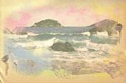 Rio In Aquarelle Print by Will Cardoso