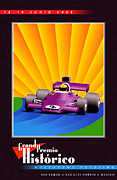 Rally Posters - Rio Verde Mexico Historic Grand Prix Poster by Nomad Art And  Design